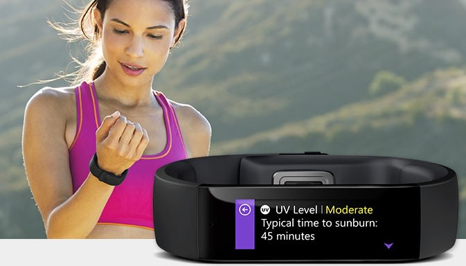 Best Fitness Tracker Band Microsoft band