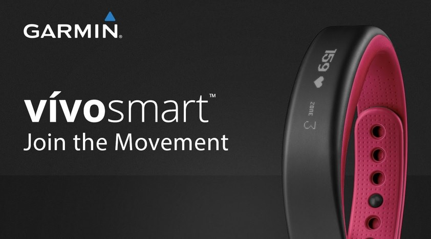 garmin vivosmart fitness band