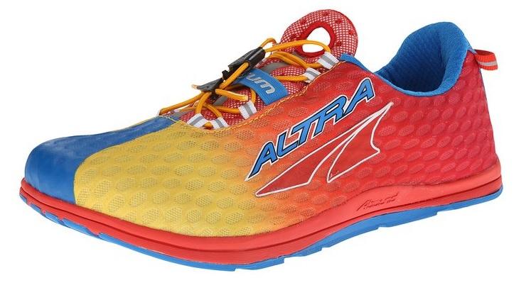 Triathlon running shoe