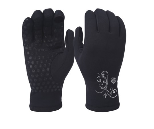 soft running gloves for women
