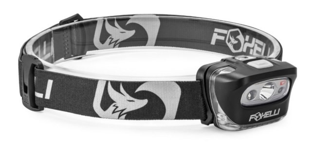 Foxelli Headlamp Flashlight for Runner