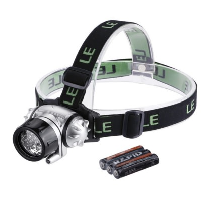 LE Headlamp LED Flashlight For Running