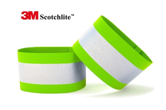 Reflective Arm Bands for Running, Cycling and etc by Zivalo