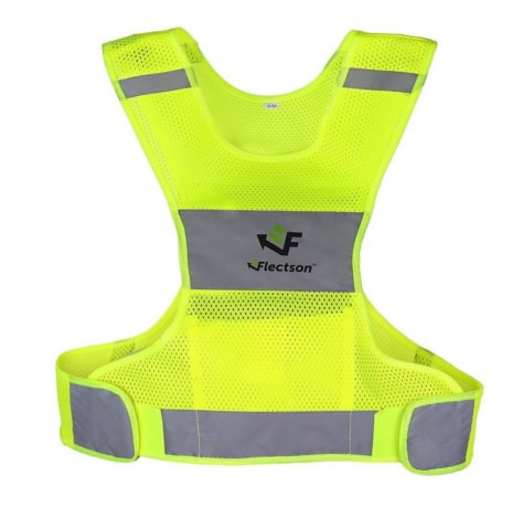 Reflective Running Vests for Both Men and Women by Flectson