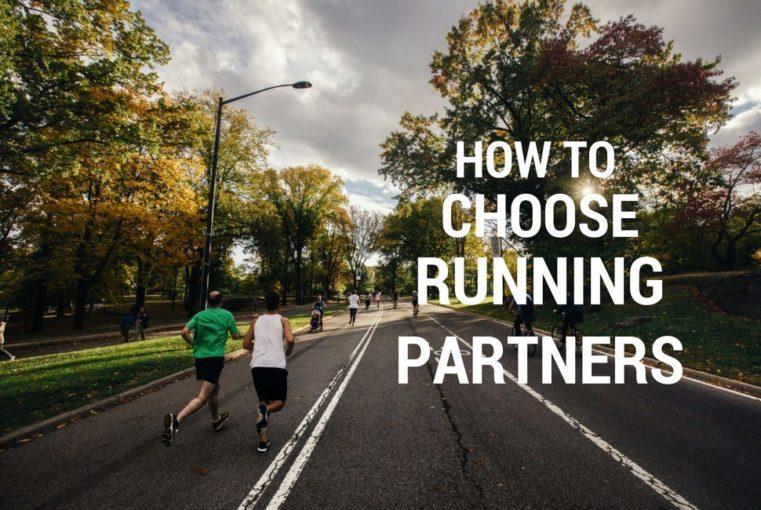 how to choose running partner